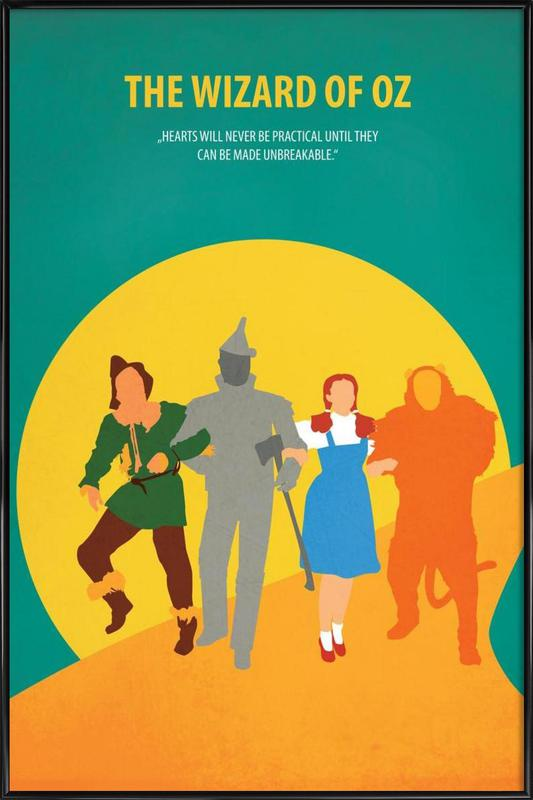 The Wizard Of Oz As Poster In Standard Frame Juniqe
