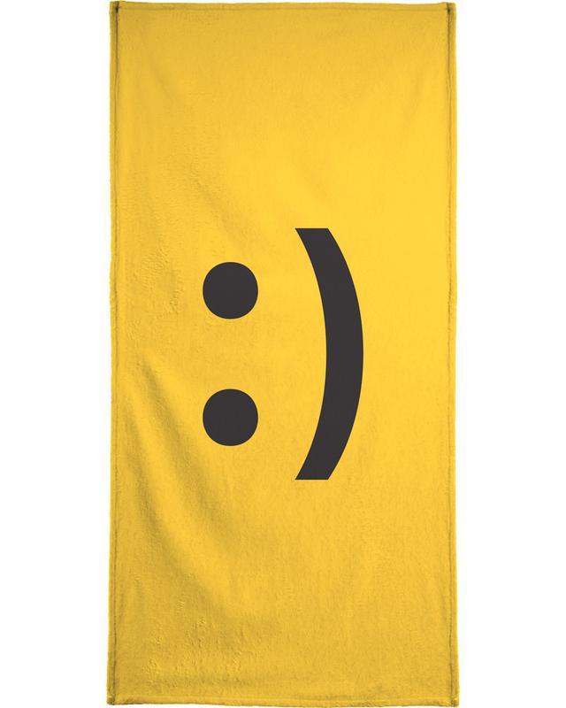handtuch smiley
