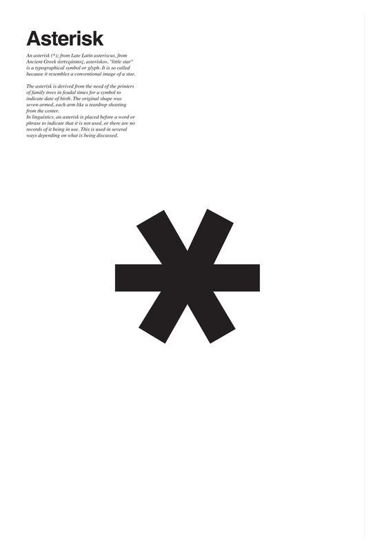 Asterisk As Acrylic Glass Print By Ledieg Juniqe