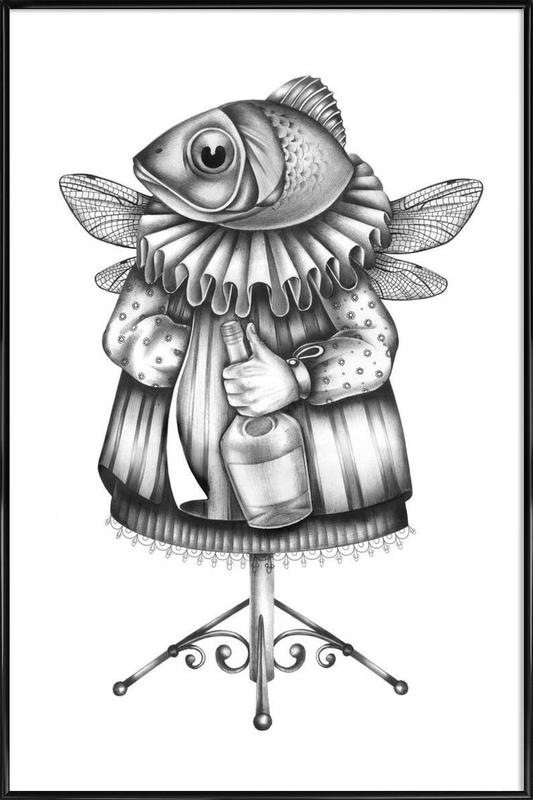 Fish as Poster in Standard Frame by Maria Vdovichenko | JUNIQE