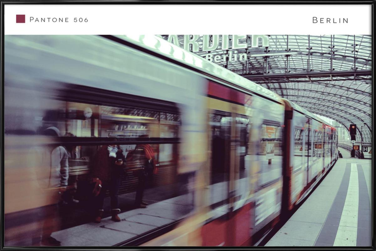 Berlin 506 As Poster In Standard Frame By In Full Color Juniqe Uk