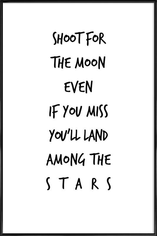 Stars as Poster in Standard Frame by Steffi Louis | JUNIQE