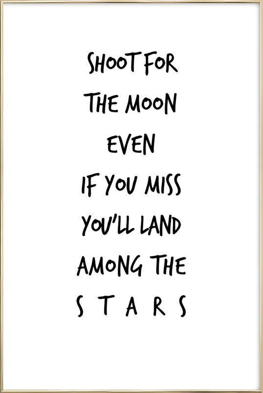 Stars as Poster in Aluminium Frame by Steffi Louis | JUNIQE