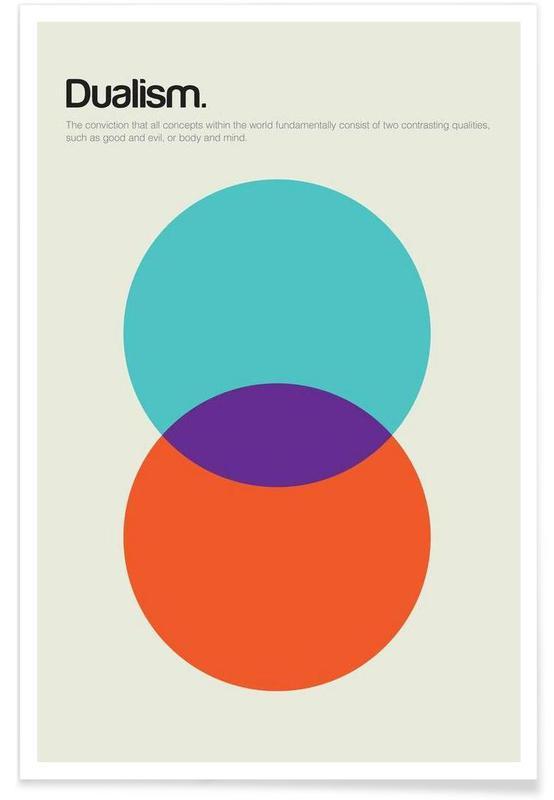 Dualism As Premium Poster By Gen 237 S Carreras Juniqe