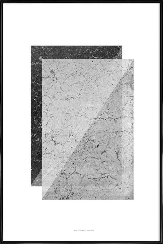 Broken Walls as Poster in Standard Frame by The Wall Shop | JUNIQE
