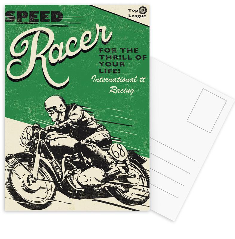 Speed Racer as Postcard Set by Rocket68 | JUNIQE UK