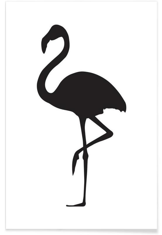 Flamingo As Premium Poster By Honeymoon Hotel Juniqe Uk