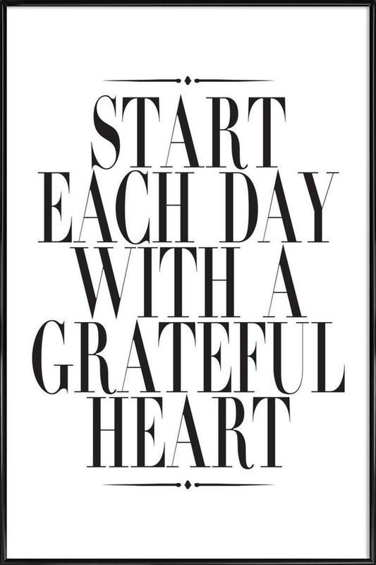 Start Each Day as Poster in Standard Frame by Honeymoon Hotel | JUNIQE