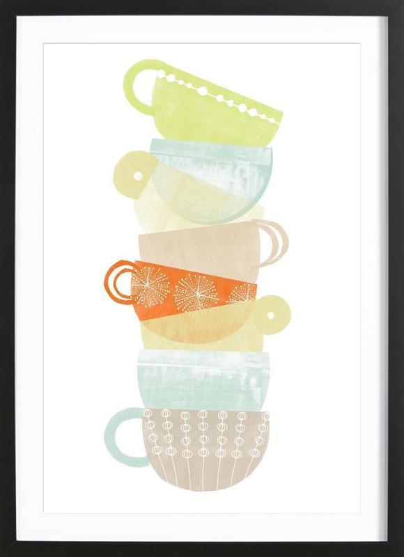cappuccino als poster im holzrahmen von catherine aguilar juniqe. Black Bedroom Furniture Sets. Home Design Ideas