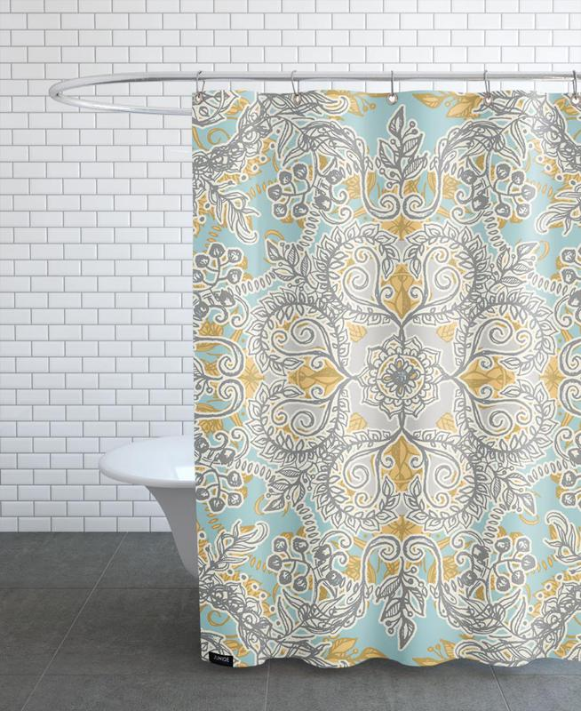 Gypsy Floral as Shower Curtain by Micklyn Le Feuvre | JUNIQE UK