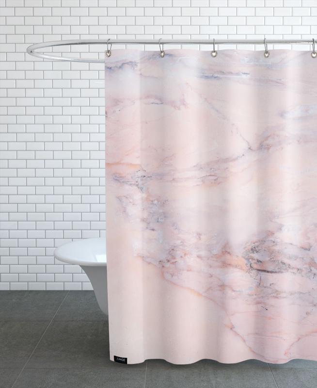 Blush Marble als Duschvorhang von cafelab   JUNIQE