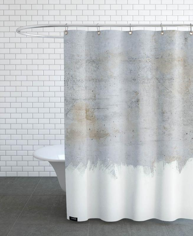 Concrete Style als Duschvorhang von cafelab   JUNIQE