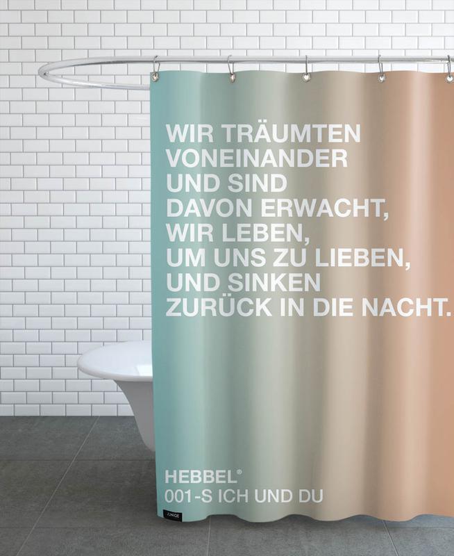 Ich Und Du Light 01 As Shower Curtain By Un Typisch Juniqe