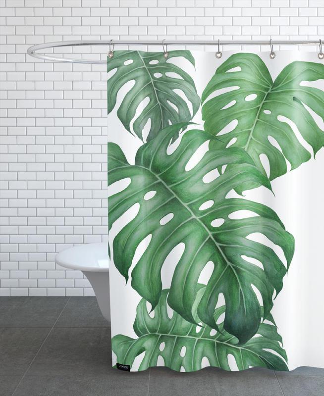 tropical no 2 als duschvorhang von typealive juniqe. Black Bedroom Furniture Sets. Home Design Ideas