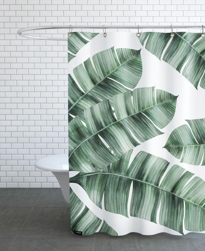 tropical no 8 als duschvorhang von typealive juniqe. Black Bedroom Furniture Sets. Home Design Ideas