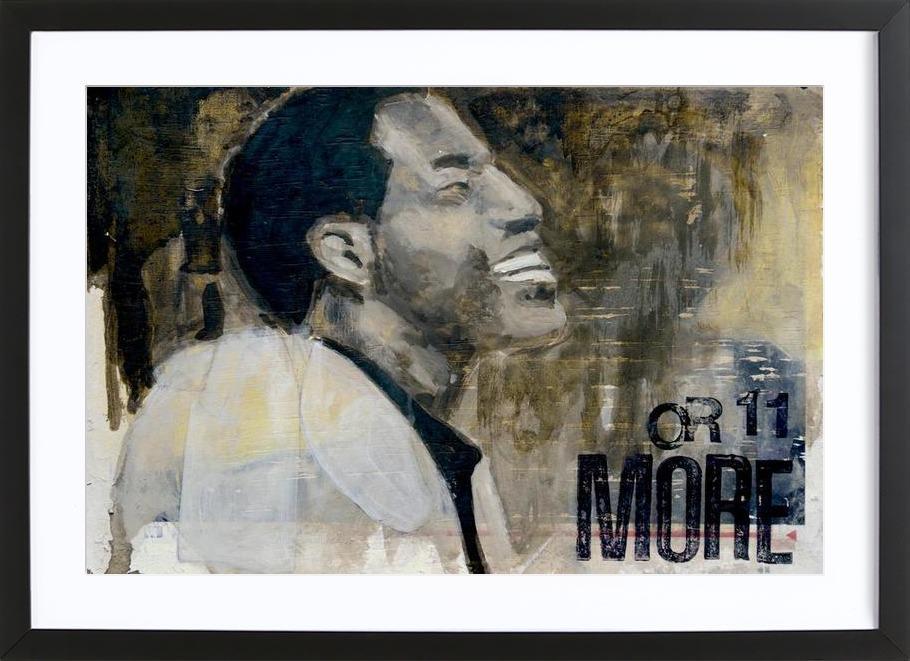 Shout Bamalama 04 als Poster im Holzrahmen von David Diehl | JUNIQE