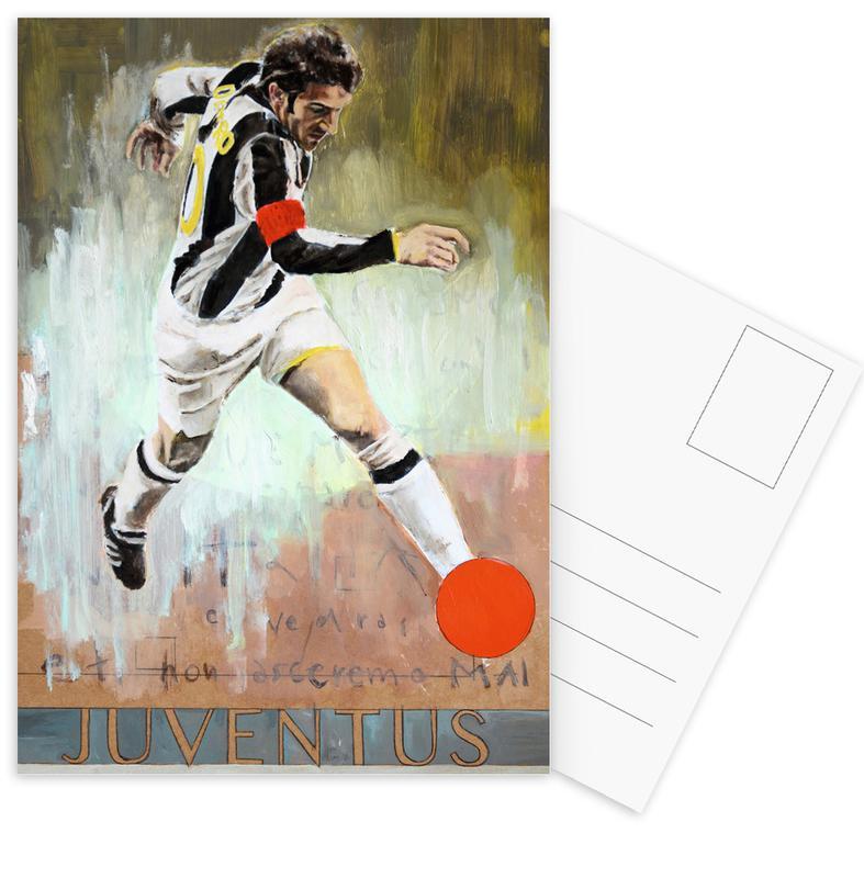 One Love Juve Postkartenset