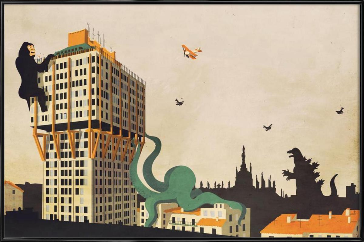 Miami Ancora as Poster in Standard Frame by Giordano Poloni | JUNIQE