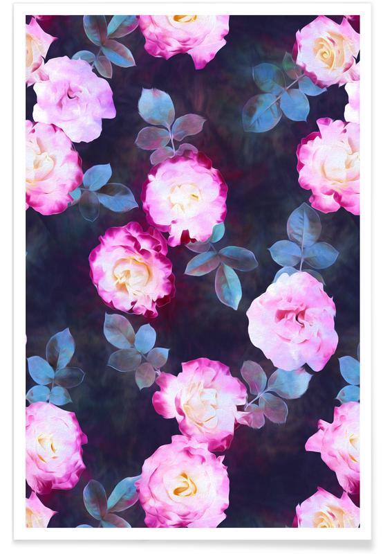 Twilight Roses som Poster av Micklyn Le Feuvre  548c65d0401a3