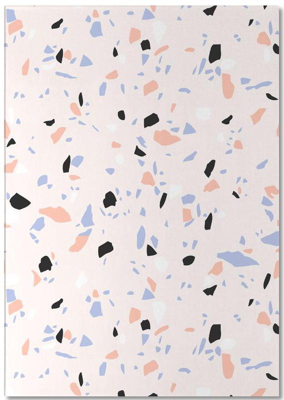 Sweet Terrazzo Texture As Notepad By Cafelab