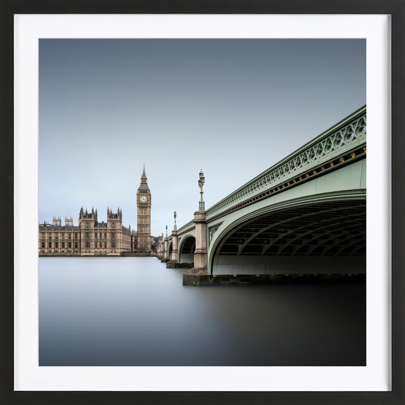London Westminster Abbey As Poster In Wooden Frame Juniqe