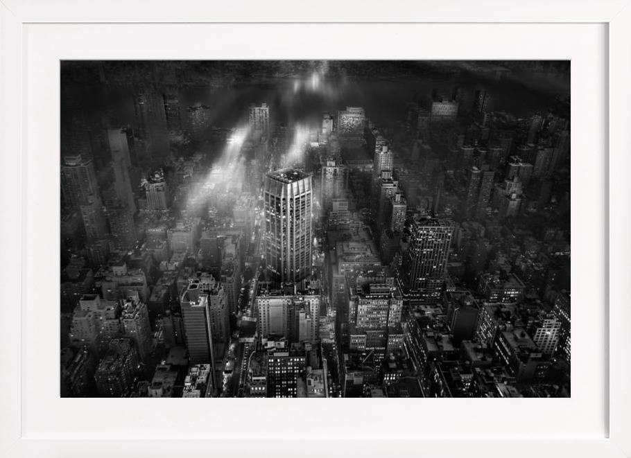 New York City - Leif Løndal als Poster im Holzrahmen von 1x | JUNIQE
