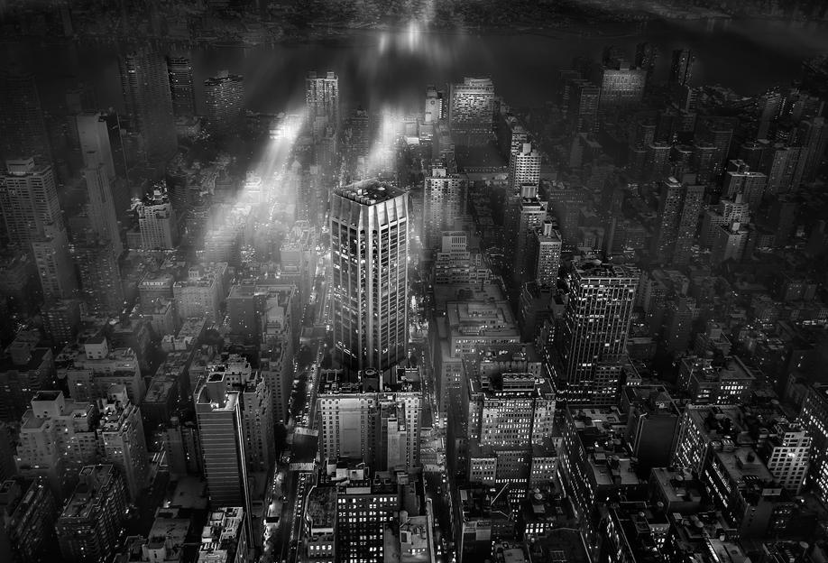 new york city leif l ndal als acrylglasbild von 1x juniqe. Black Bedroom Furniture Sets. Home Design Ideas