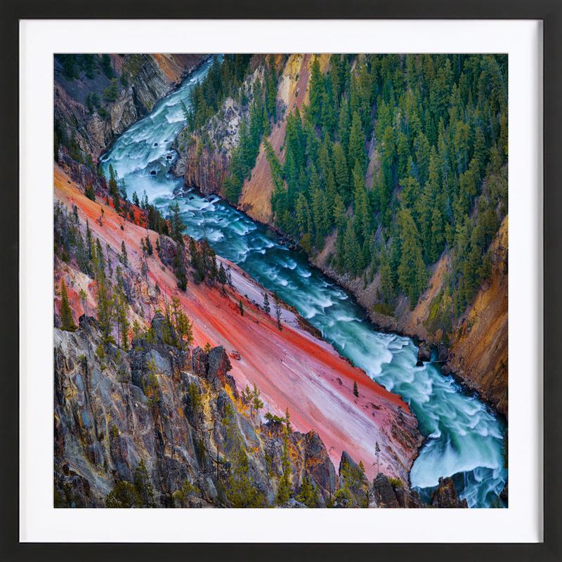 Grand Canyon Yellowstone - Ignacio Palacios as Poster in Wooden ...