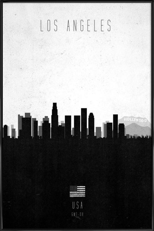 Los Angeles Contemporary Cityscape as Poster in Standard Frame | JUNIQE