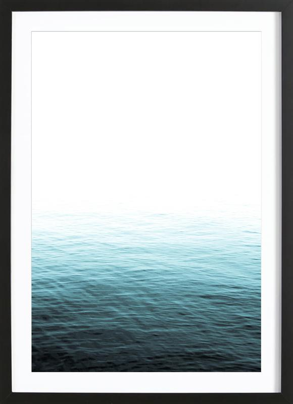 Vast Blue Ocean as Poster in Wooden Frame by Victoria Frost | JUNIQE UK