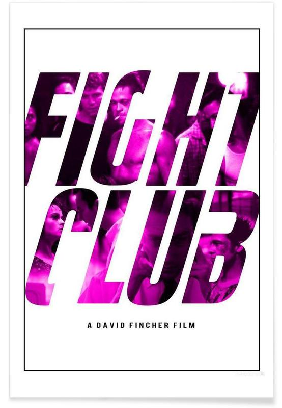 Fight Club As Premium Poster By Md Posters Juniqe