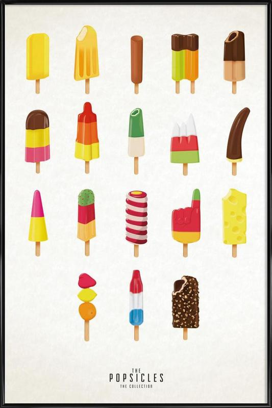 The Popsicle Project as Poster in Standard Frame | JUNIQE