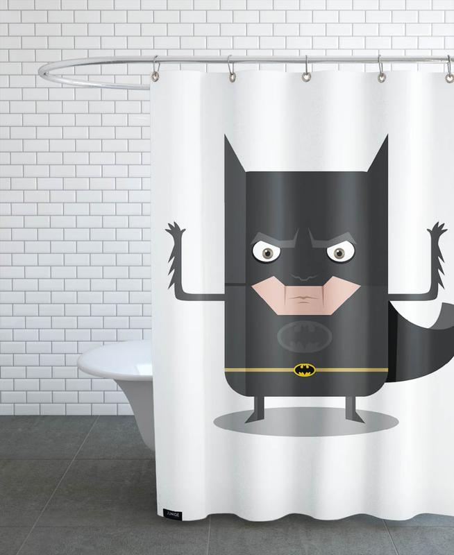 Batman as Shower Curtain by Ballooon | JUNIQE