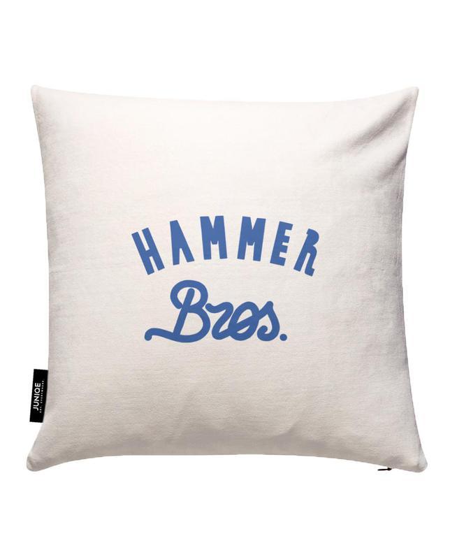 hammer als kissenbezug von yeye weller juniqe ch. Black Bedroom Furniture Sets. Home Design Ideas