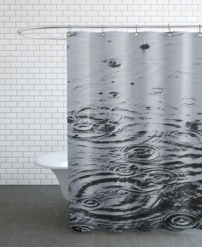 Summer Rain Shower Curtain