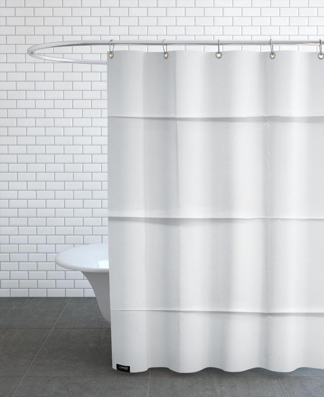 Paper Grid As Shower Curtain By Studio Nahili