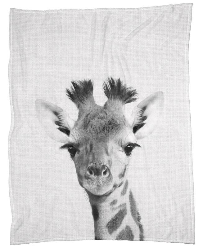 Print 40 As Fleece Blanket By Lila X Lola JUNIQE Adorable Giraffe Print Throw Blanket