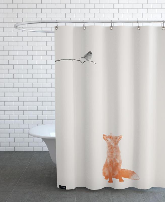 Bird And Fox as Shower Curtain by Sarah Bühler | JUNIQE UK