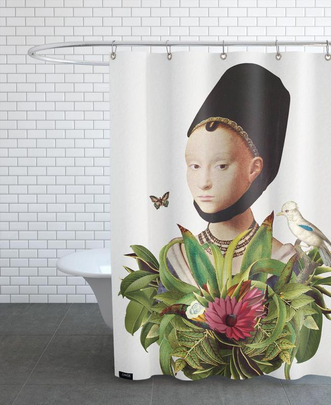 renaissance in jungle 3 als duschvorhang von andriana chunis juniqe. Black Bedroom Furniture Sets. Home Design Ideas