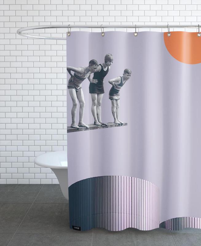Summer Time Fun als Duschvorhang von Maarten Léon   JUNIQE