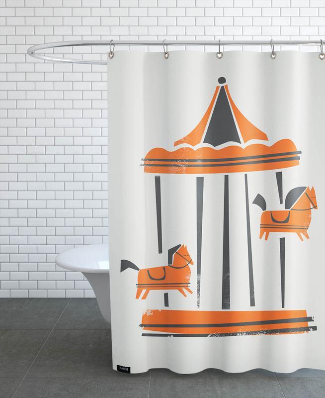 Carousel as Shower Curtain by Fox & Velvet | JUNIQE