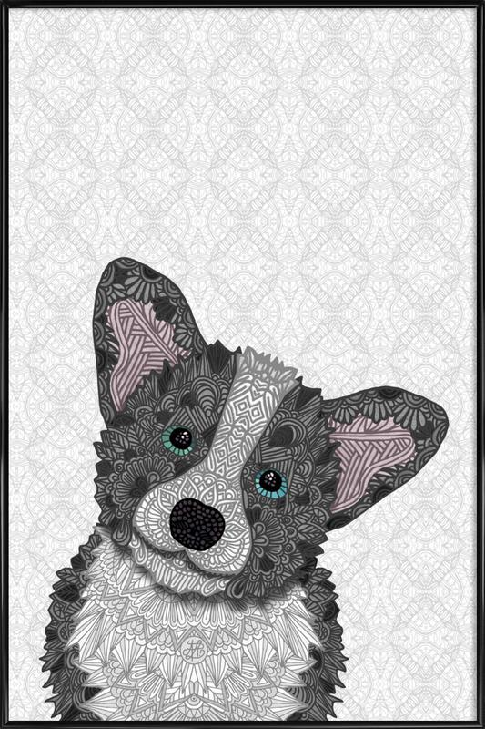 Buster as Poster in Standard Frame by Angelika Parker | JUNIQE