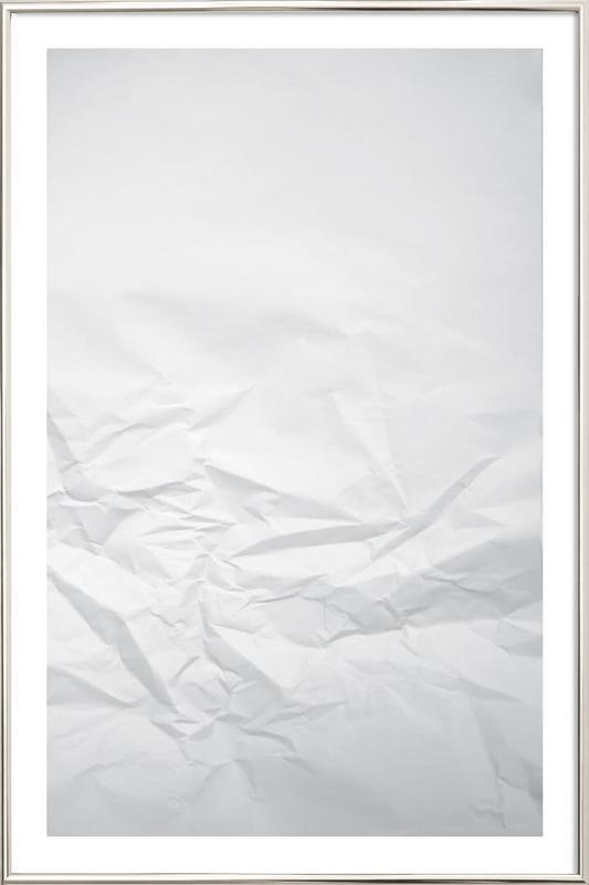 Paper Landscape as Poster in Aluminium Frame by Studio Nahili | JUNIQE
