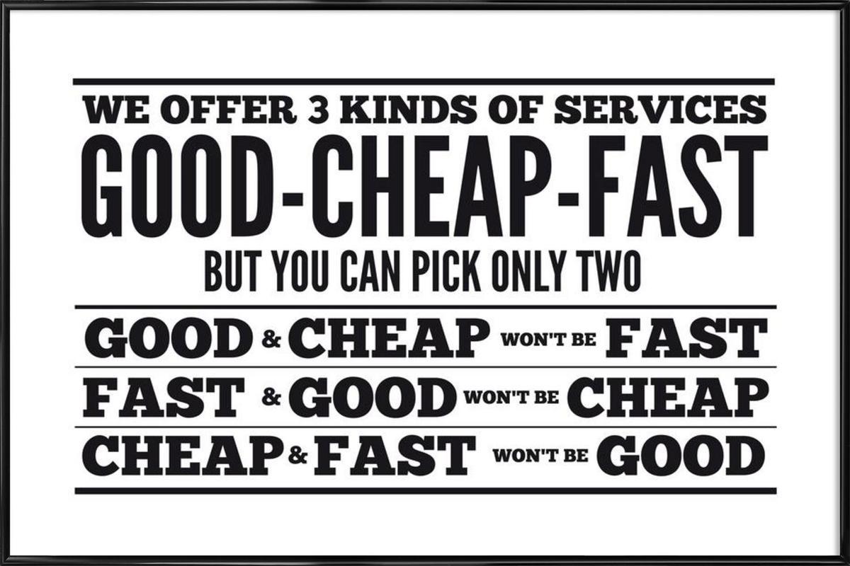 good cheap fast에 대한 이미지 검색결과