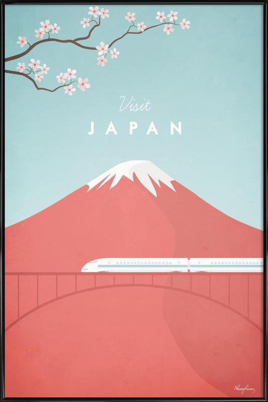 Japan as Poster in Standard Frame by Henry Rivers | JUNIQE UK