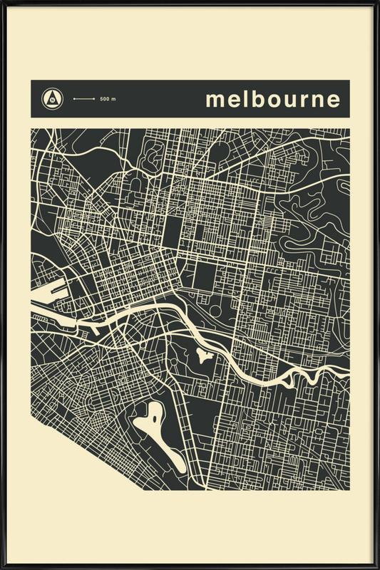 City Maps Series 3 Series 3 - Melbourne als Poster im ...