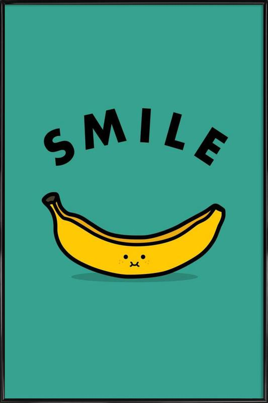 Banana as Poster in Standard Frame by Jaco Haasbroek | JUNIQE