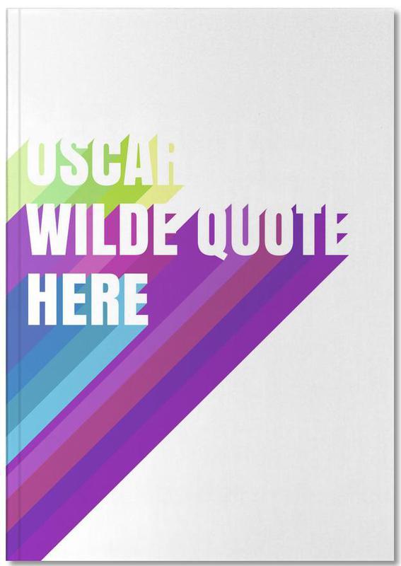 Oscar Wilde als Premium Notizbuch | JUNIQE