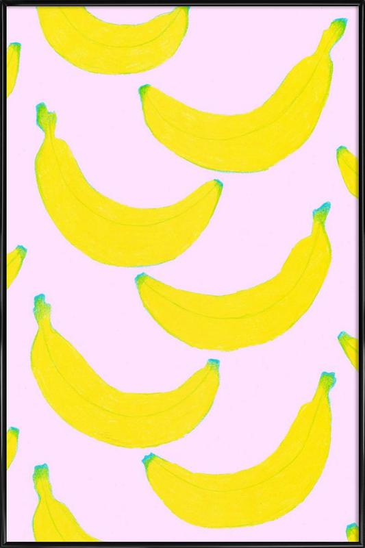 Spontaneous Bananas as Poster in Standard Frame | JUNIQE