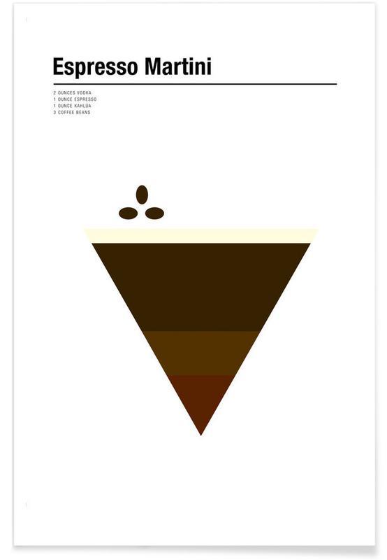 Espresso Martini as Premium Poster by Nick Barclay | JUNIQE